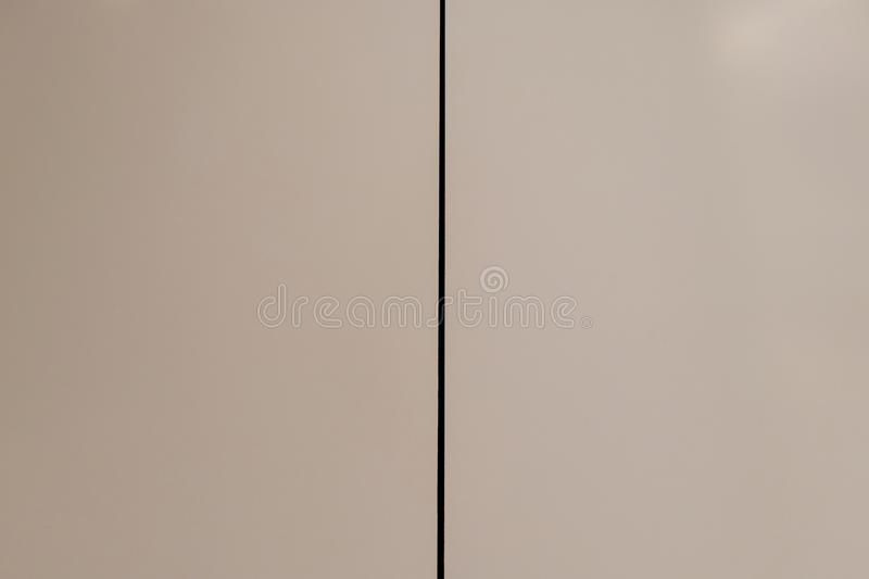 White Background and Black Line stock photo