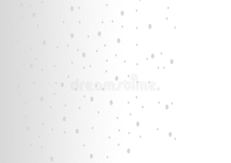 White background with droplets wallpaper design stock illustration