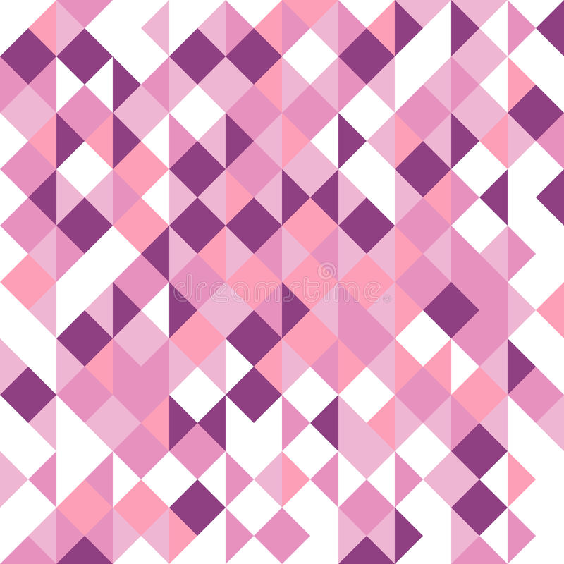 White background with random. White abstract background with random purple squares vector illustration