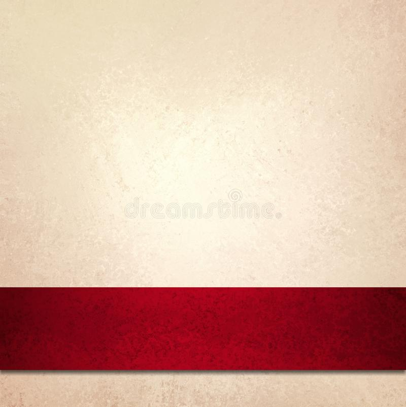 Free White Background Red Christmas Ribbon Wrap Stock Images - 39235734