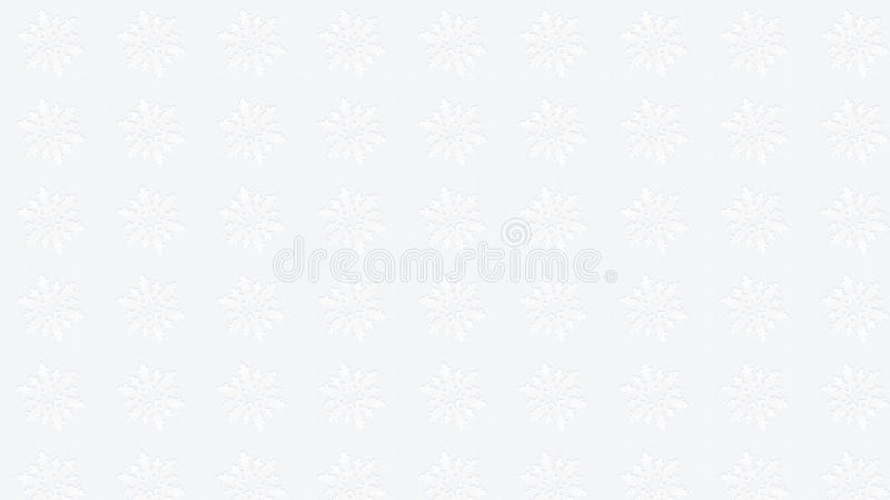 Christmas white snowflakes handcraft decoration wallpaper stock photo