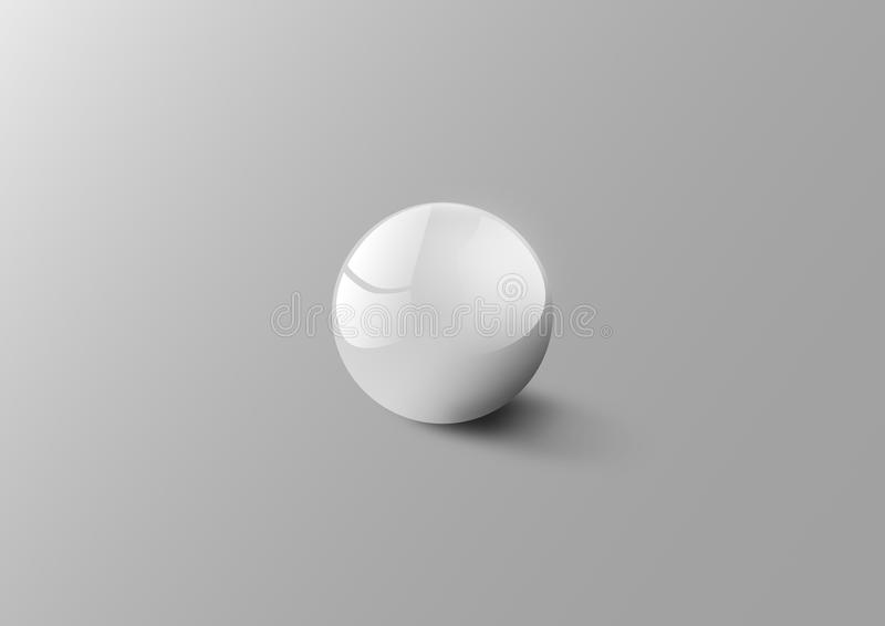 White Ball royalty free stock image