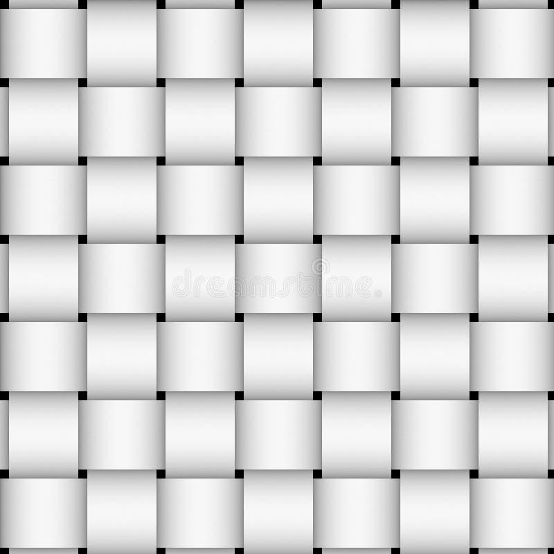 Download White basket weave stock illustration. Illustration of monochromatic - 4159889