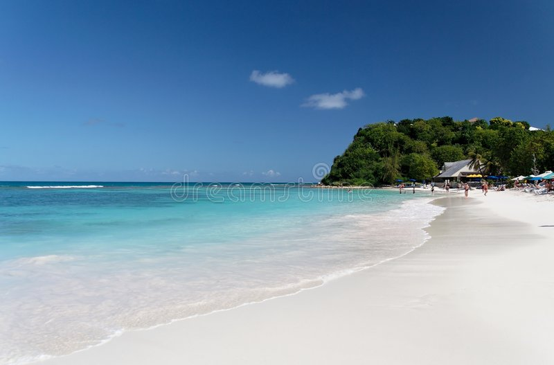 White Beach royalty free stock images