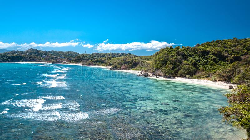White Beach Boracay Island Philippines Tropical Paradise royalty free stock photography