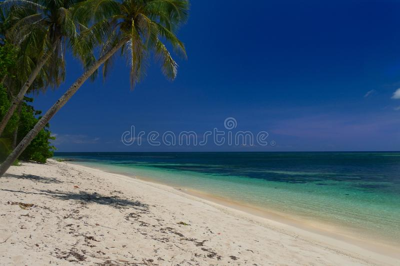 Tioman island, white beaches royalty free stock photography
