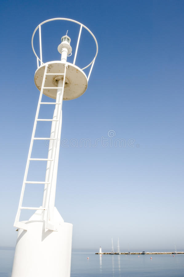 Download Beacon stock image. Image of below, lighthouse, color - 30019895