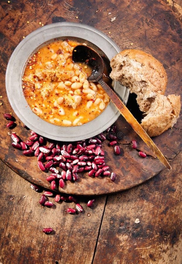 White bean stew stock image
