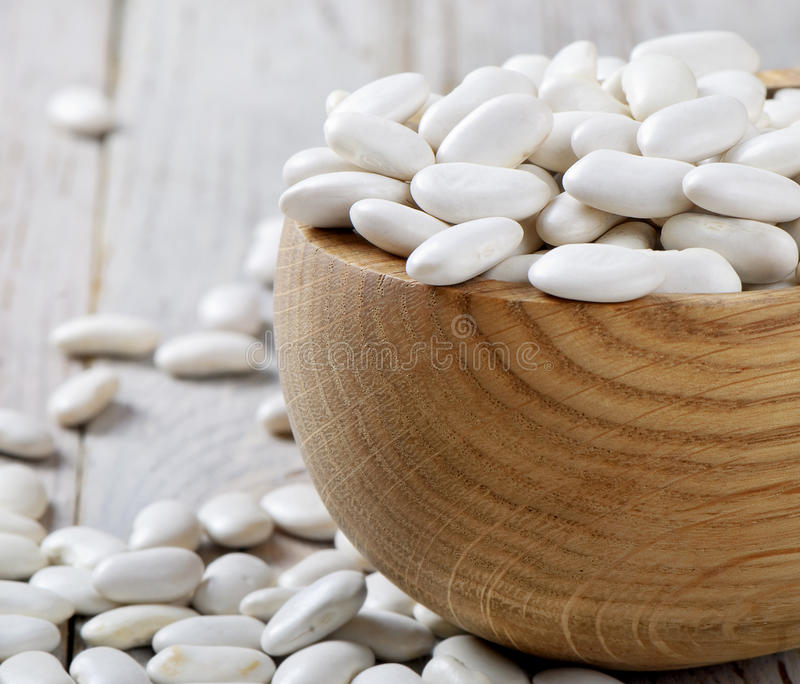 Download White beans stock image. Image of bean, bowl, haricot - 23527673