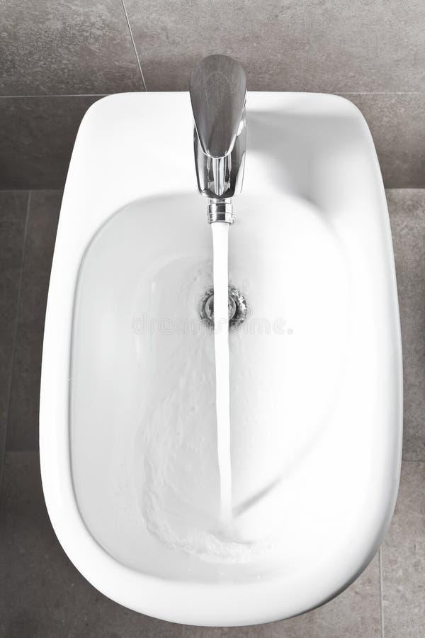 Download White bidet from above stock image. Image of habitation - 27402889