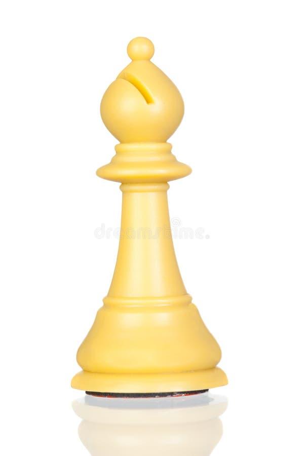 Free White Bishop Chess Stock Photo - 12942940