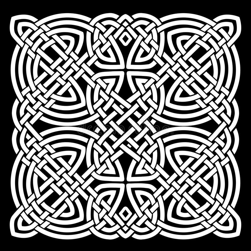 Download White And Black Celtic Mandala Background Stock Vector    Illustration Of Arts, Abstract: