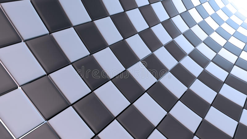 White and black checkers background