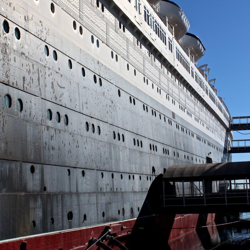 White And Black Cruise Ship Free Public Domain Cc0 Image