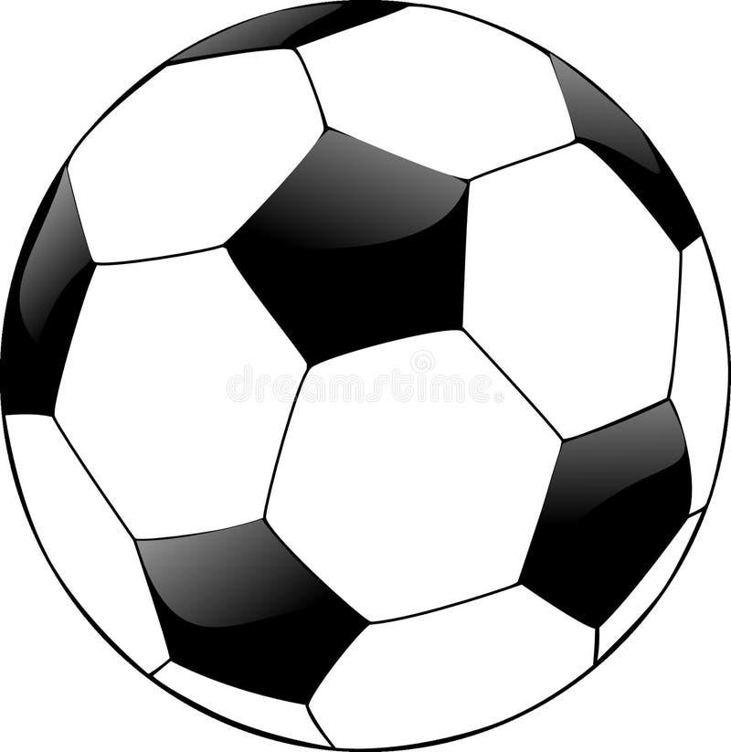 White, Black And White, Football, Ball stock photo