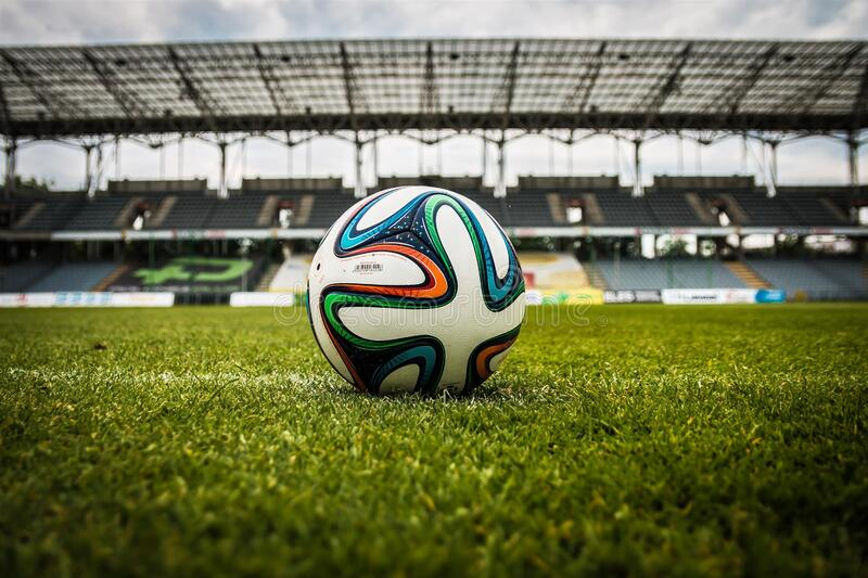 White Black And Green Soccer Ball On Soccer Field Free Public Domain Cc0 Image