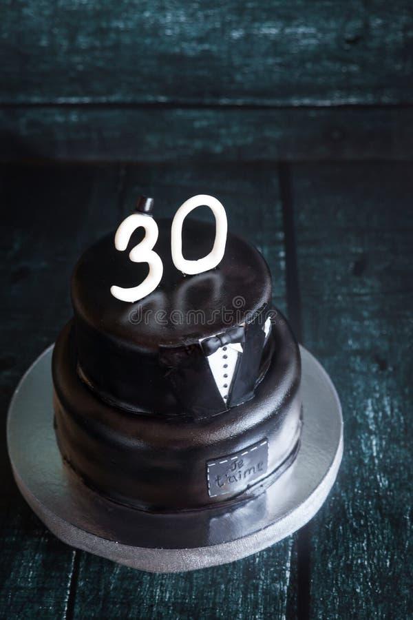 Brilliant White And Black Tuxedo Wedding Or Birthday Cake Stock Photo Personalised Birthday Cards Akebfashionlily Jamesorg