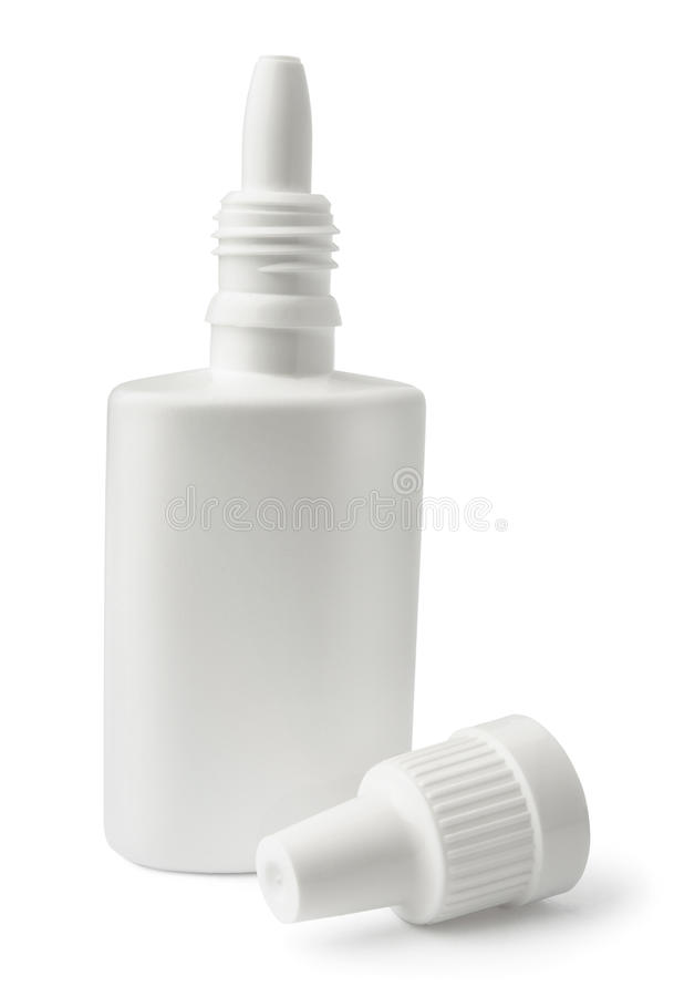 Download White Blank Nasal Spray Bottle Stock Photo - Image: 24046620