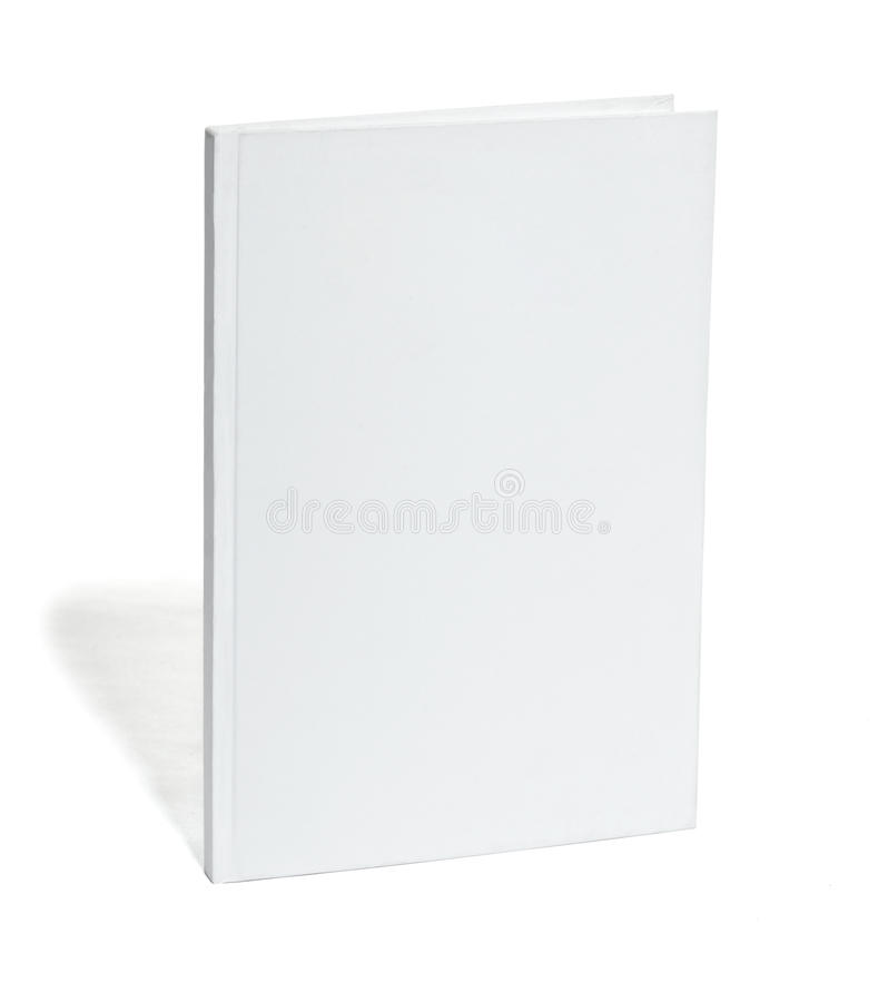 White blank notebook stock photo