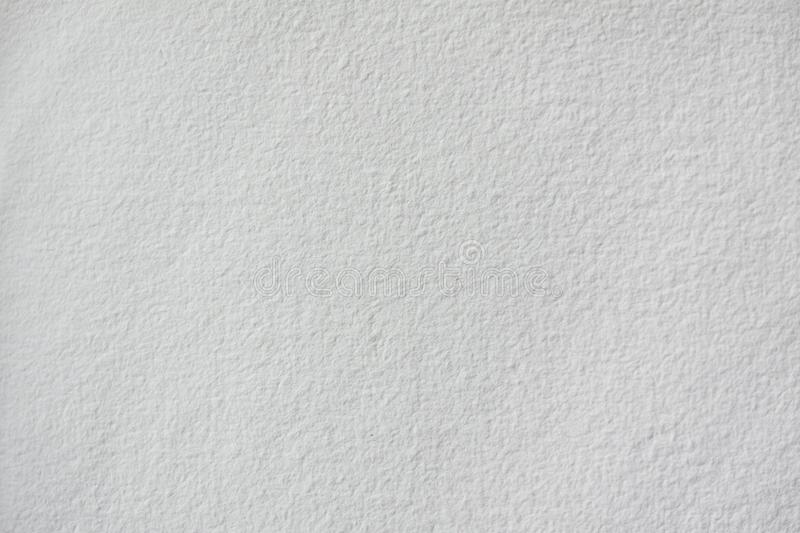 White blank watercolor or aquarell paper sheet. Close up. Image royalty free illustration