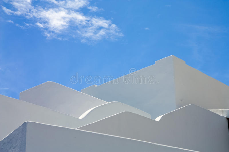 White and blue royalty free stock photo