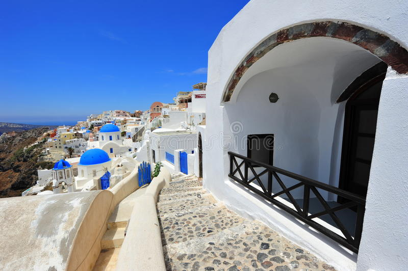 Download White And Blue Of Santorini, Oia Village Stock Photo - Image: 26079112