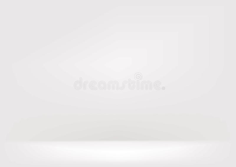 White blur wall stock illustration