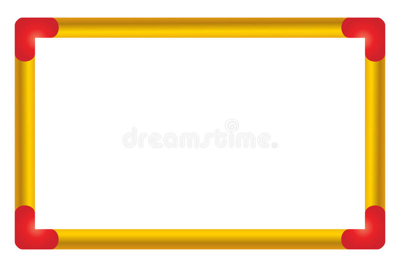 White board vector illustration