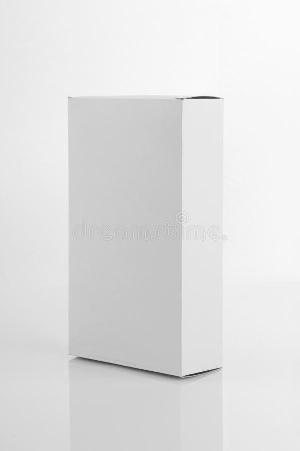 Free White Board Product Packaging Box For Mockups Stock Photo - 83472970