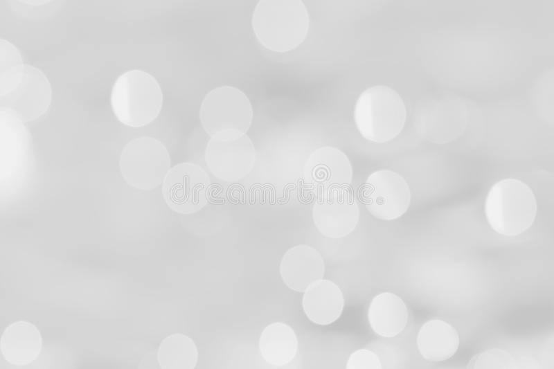 Download White Bokeh On A Silver Background. Stock Image - Image of text, background: 37405113