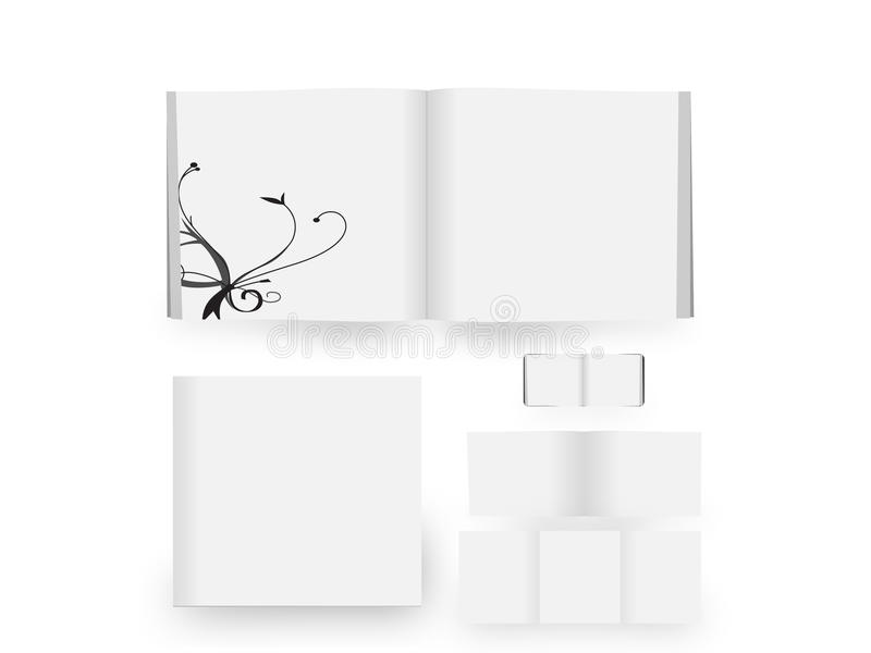 Download White book stock illustration. Image of copy, isolated - 16801874