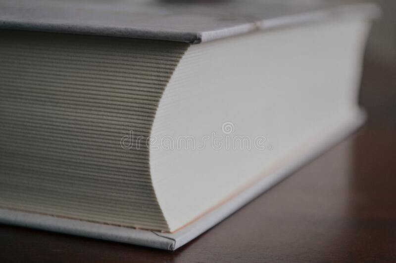 White Book royalty free stock image