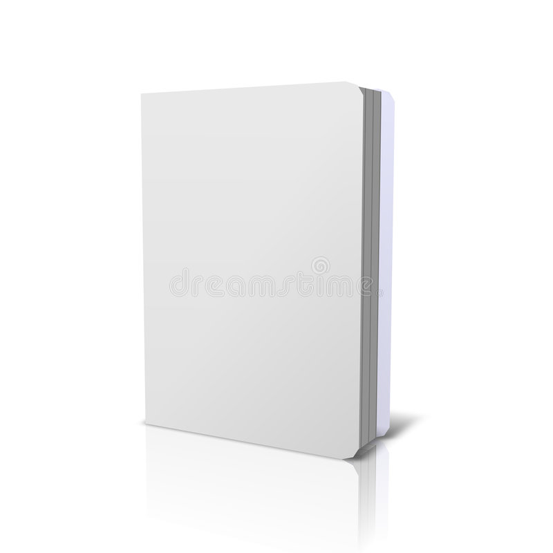 Download White Book stock illustration. Image of carton, report - 8881875