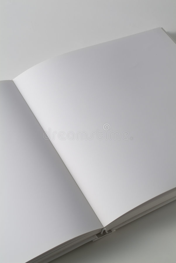 White book diagonal vertical royalty free stock photography