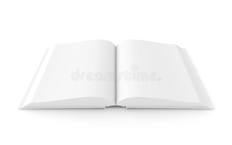 White Book - Open Version Stock Photo