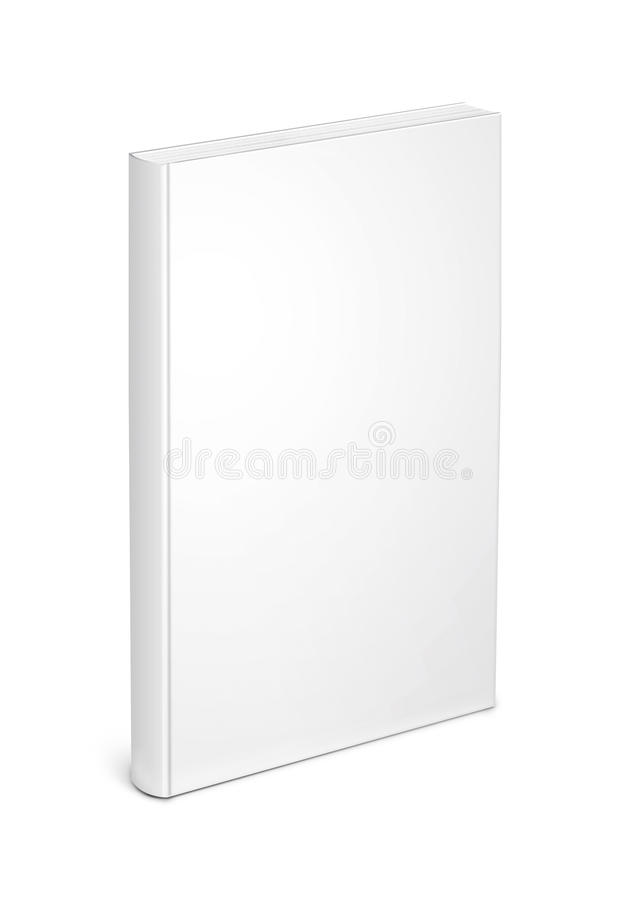 White Book Template Stock Photography