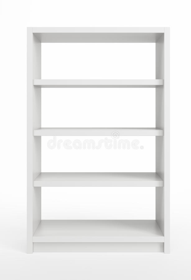 Download White Bookcase Stock Photos - Image: 24048223