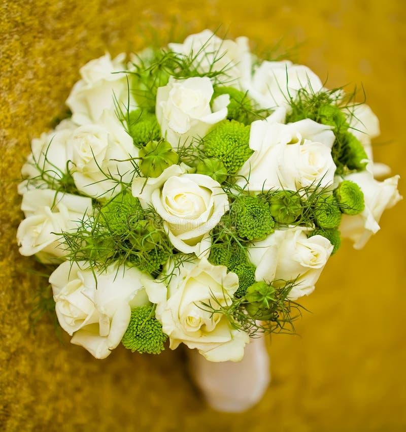 White bouquet stock photos