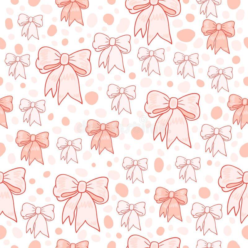 Download White bows stock illustration. Illustration of winter - 12000133