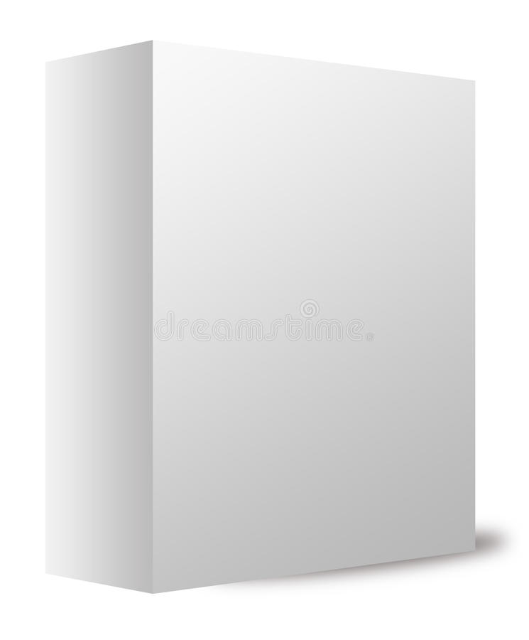Download White box stock illustration. Illustration of brand, blank - 17507104
