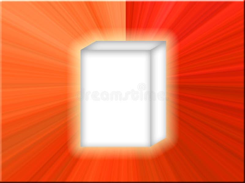 Download White Box Red Star stock illustration. Illustration of infomercial - 2550549
