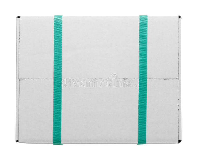 White Box And Straps royalty free stock photography