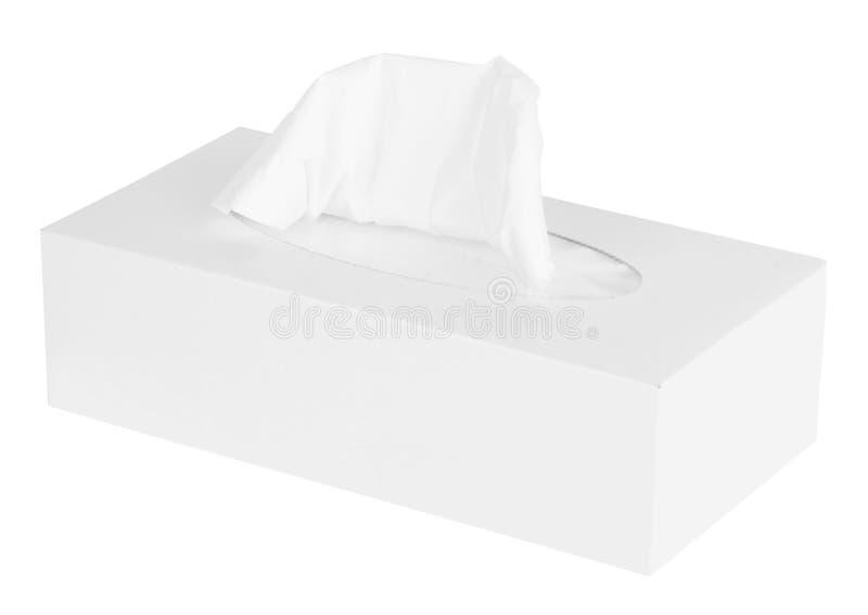 White Box of Tissues royalty free stock photos