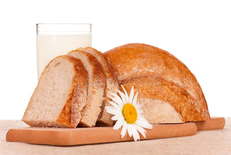 Download White bread slices stock image. Image of ripe, beautiful - 26925249