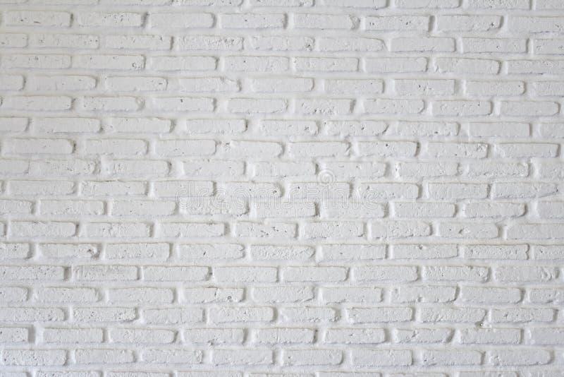 White brick wall stock photography