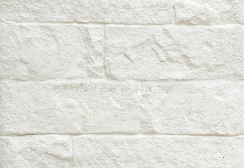White brick wall background. Texture of White brick wall background stock image
