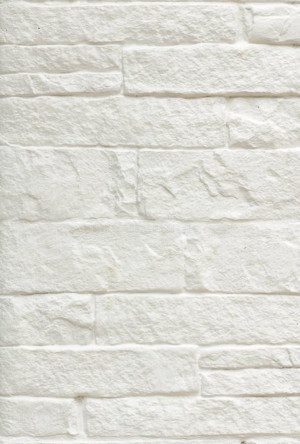 White brick wall background. Texture of White brick wall background royalty free stock image