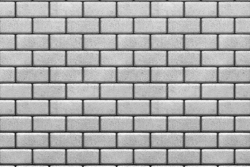 White brick wall background vector illustration