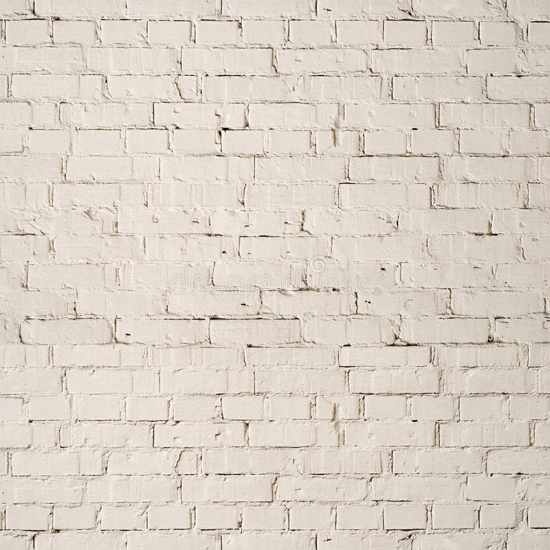 White brick wall background royalty free stock images