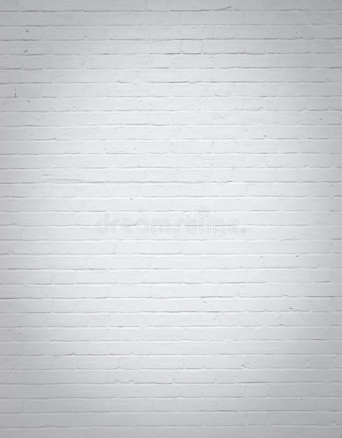 Download White Blank Brick Wall Vertical Background Stock Photo